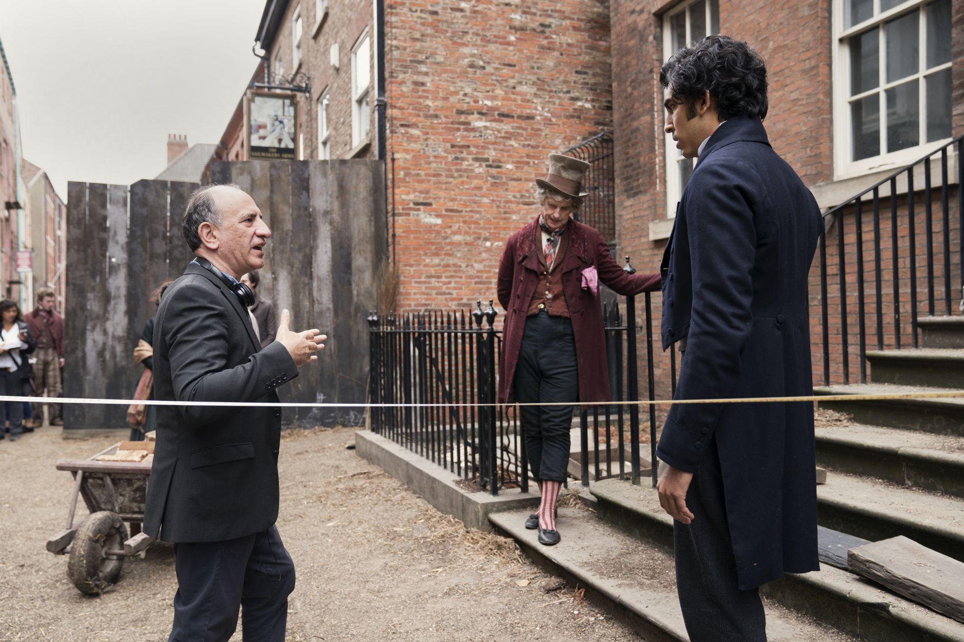 La vita straordinaria di David Copperfield: una scena