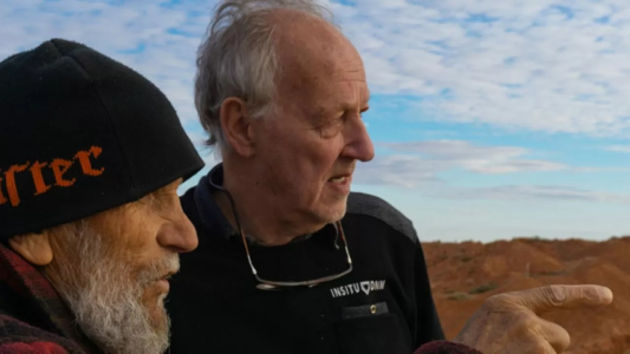 Nomad:  In Cammino Con Bruce Chatwin, un momento del film