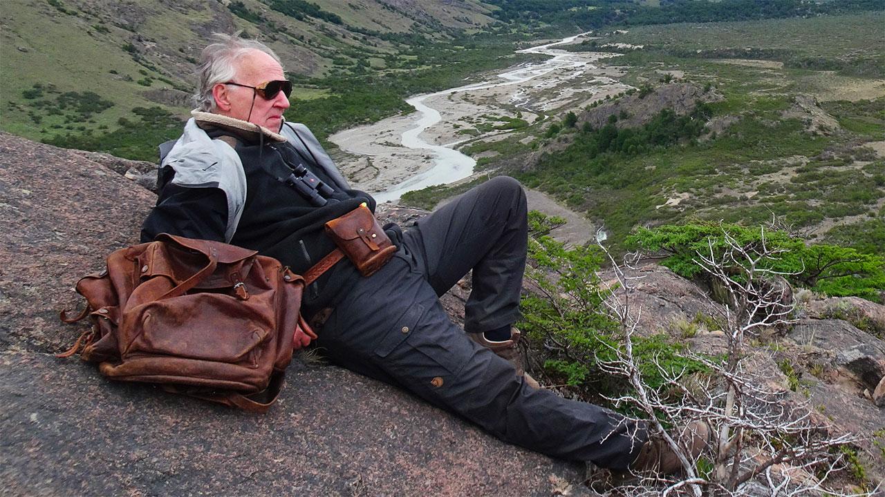 Nomad:  In Cammino Con Bruce Chatwin, una sequenza del film