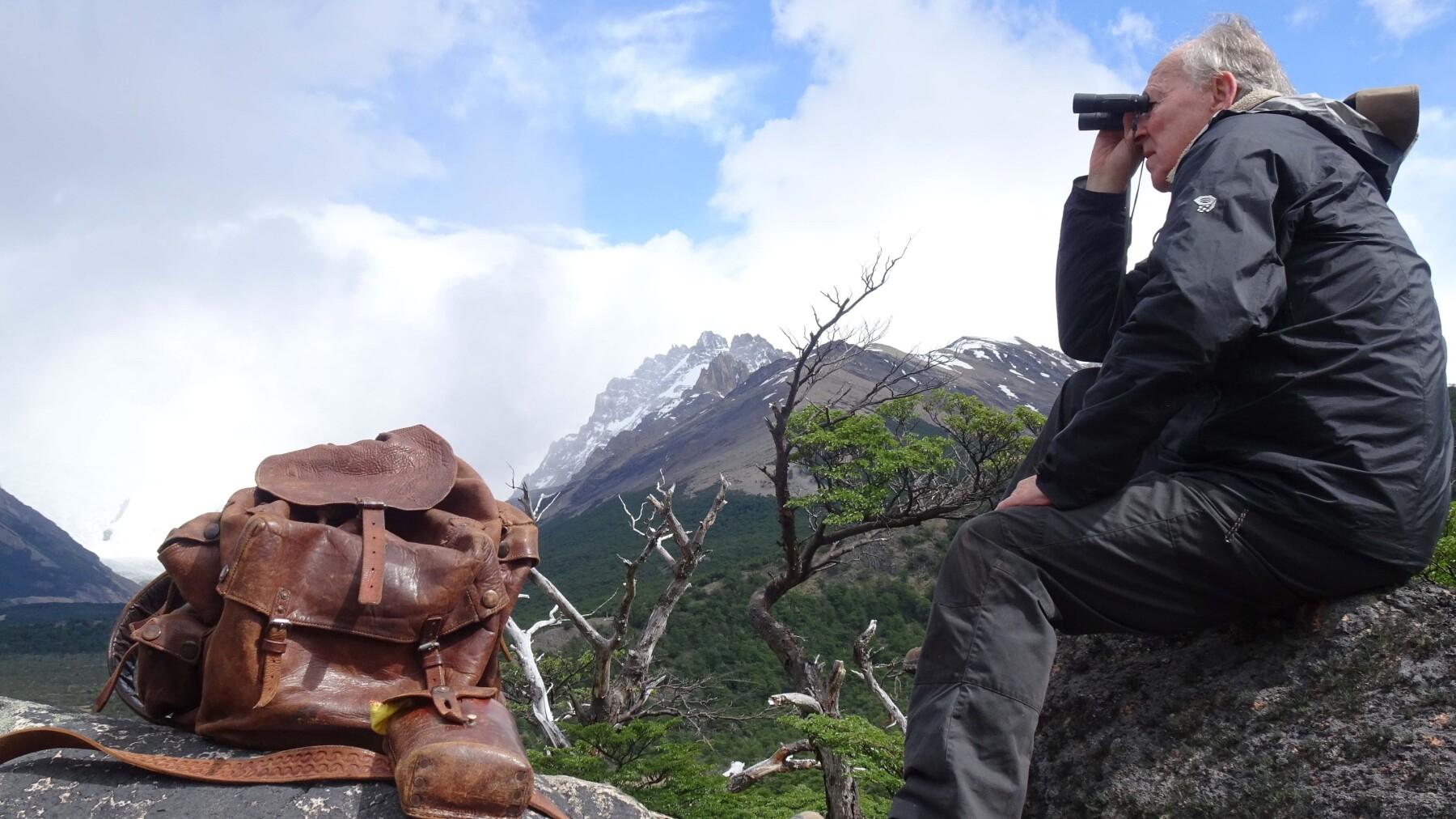 Nomad:  In Cammino Con Bruce Chatwin, una scena del film