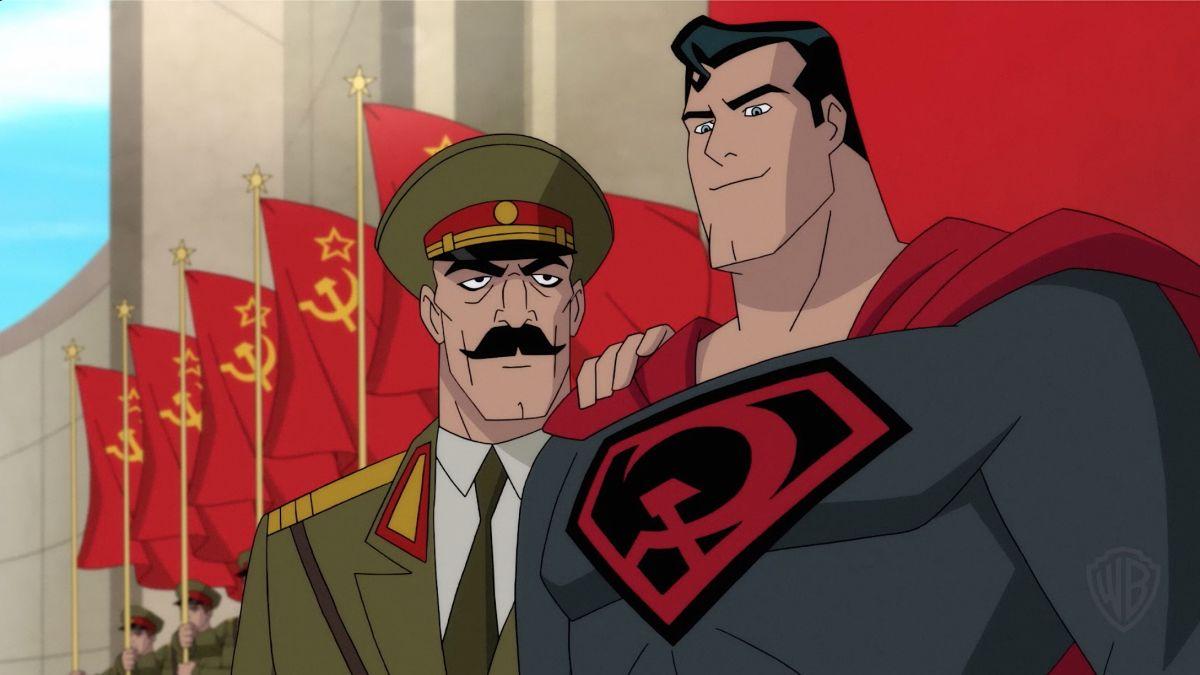 Superman: Red Son, un momento del film