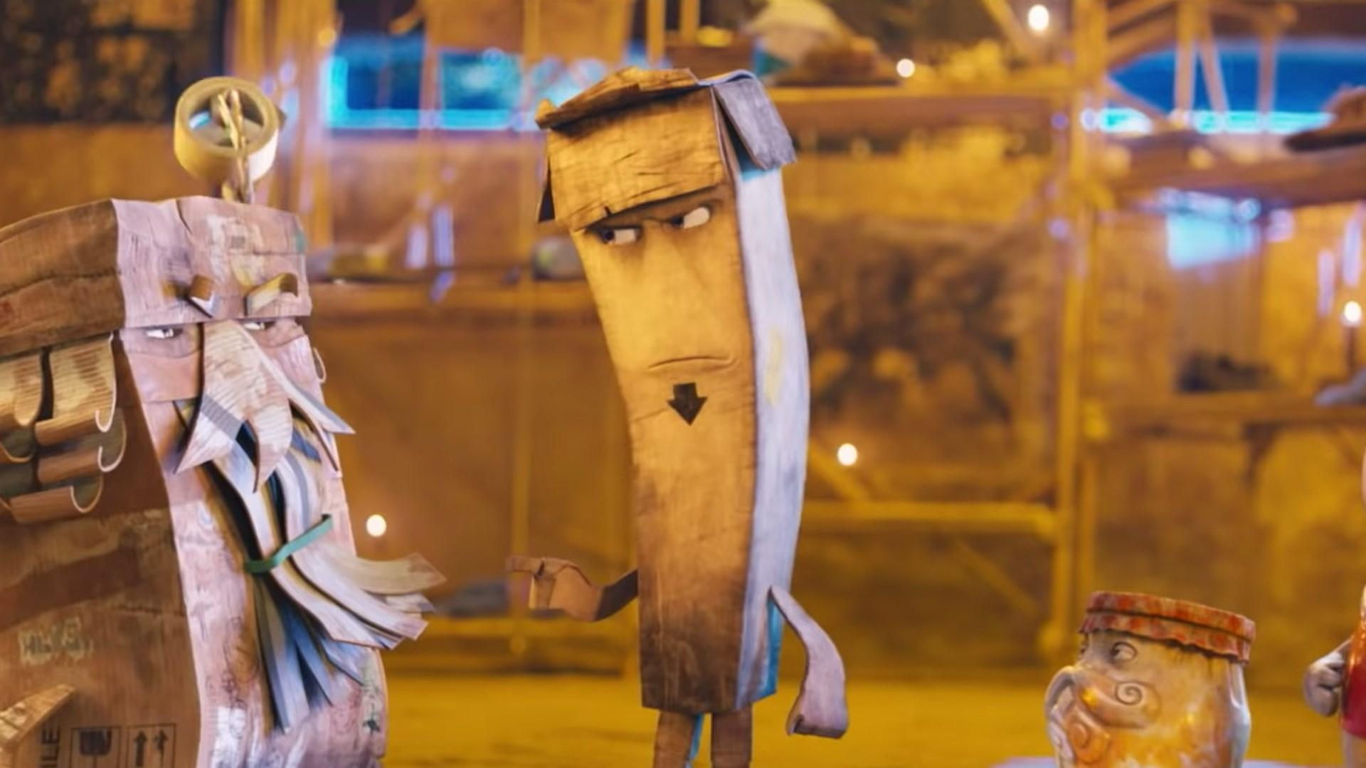 Trash: una scena del film animato