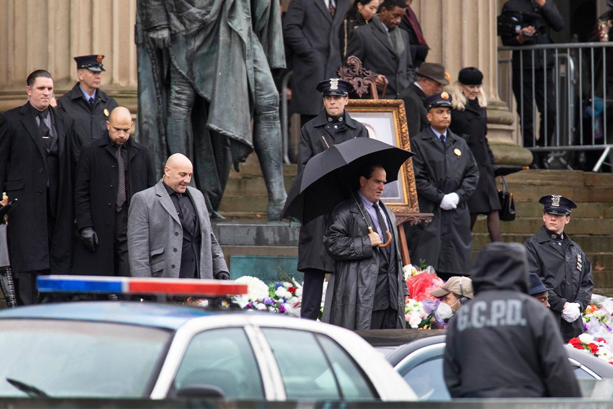 The Batman: Colin Farrell in una scena corale