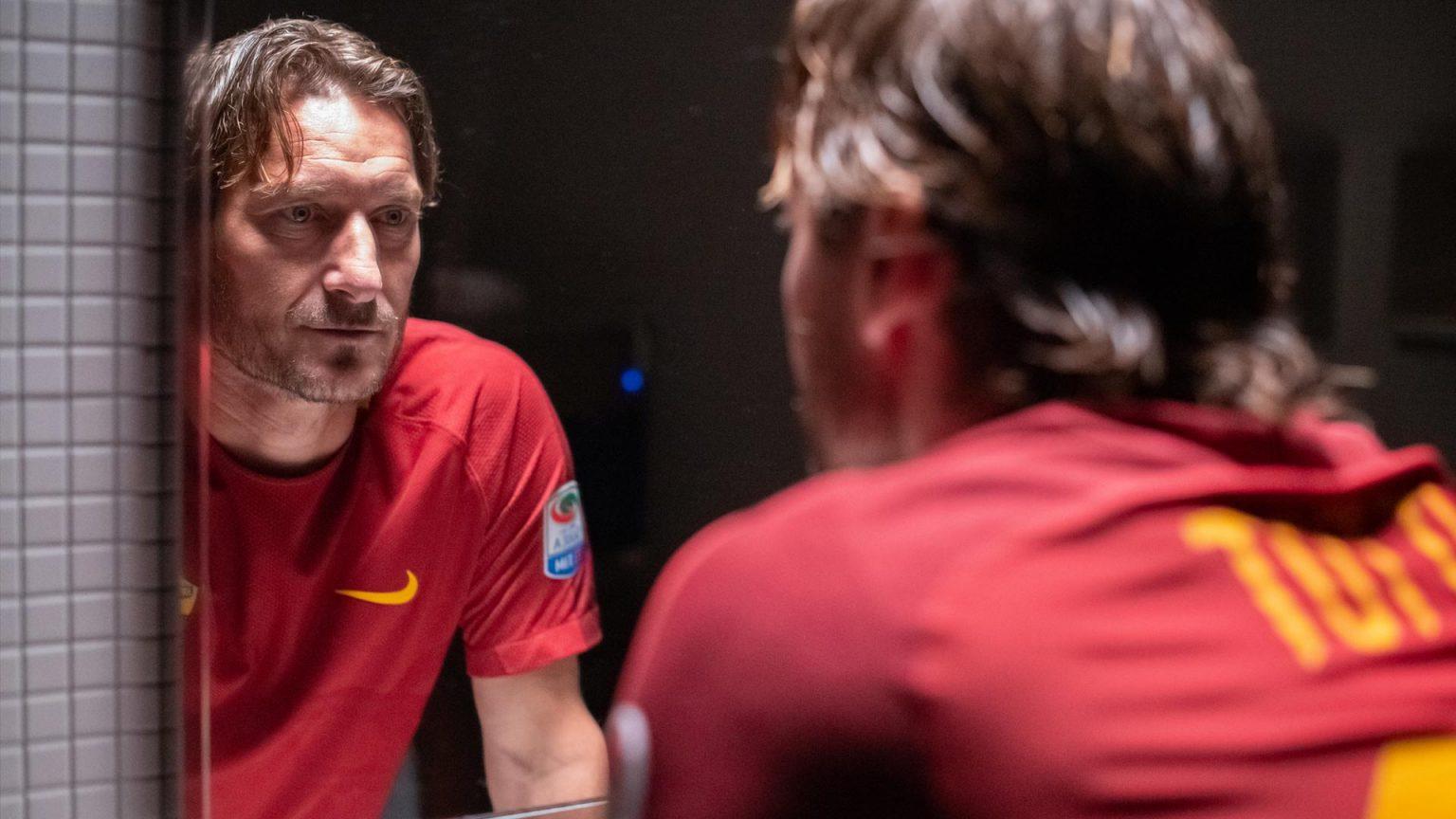 Mi chiamo Francesco Totti: Francesco Totti in  una scena del film
