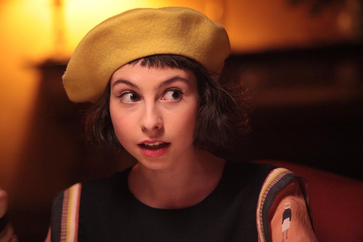 Sul più bello: Ludovica Francesconi in una scena del film
