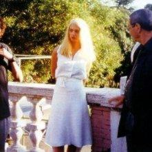Dario Argento e Asia Argento sul set di La sindrome di Stendhal