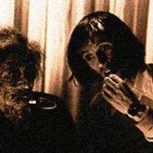 Dario Argento sul set di Suspiria, nel 1977