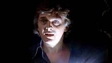 David Hemmings in una scena di Profondo rosso, di Dario Argento