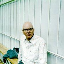 Malcom McDowell in una scena del film Evilenko