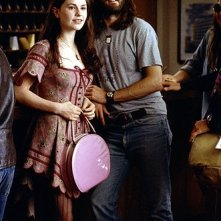 Anna Paquin e Jason Lee in una scena del film Quasi famosi
