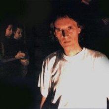 Dario Argento sul set de La sindrome di Stendhal