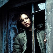 Hilary Swank in una scena del film Insomnia