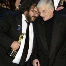 Il regista riceve i complimenti dell'Oscar alla carriera, Blake Edwards
