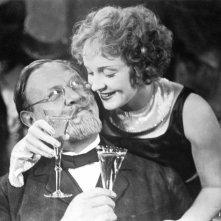 Marlene Dietrich ed Emil Jannings in una foto promozionale per L'angelo azzurro