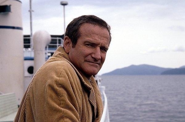 Robin Williams in una scena del film Insomnia