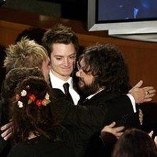 Un abbraccio tra hobbit