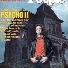Anthony Perkins sulla copertina di People per il ritorno di Norman Bates in Psycho II