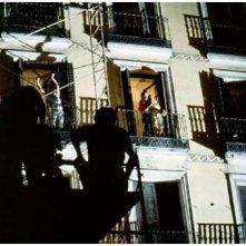 Foto scattata sul set de La legge del desiderio
