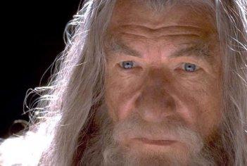 Ian McKellen, candidato all'Oscar per la sua interpretazione di Gandalf il Grigio