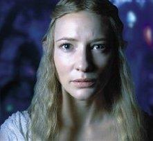 La Blanchett è Galadriel, in pensiero per il destino della Terra di Mezzo