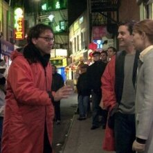 Sam Raimi dirige Kirsten Dunst e Tobey Maguire in Spider-Man
