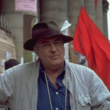 Bernardo Bertolucci sul set di The Dreamers