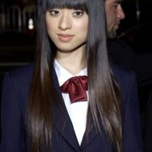 Chiaki Kuriyama alla prima di Kill Bill Vol. 1 a Los Angeles