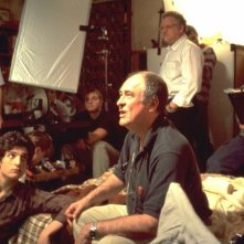 Louis Garrel e Bernardo Bertolucci sul set di The Dreamers