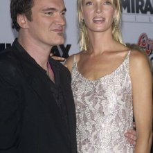 Quentin Tarantino e Uma Thurman alla prima di Kill Bill Vol. 1 a Los Angeles