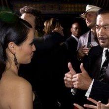 Sonny Chiba e Lucy Liu alla prima di Kill Bill Vol. 1 a Los Angeles