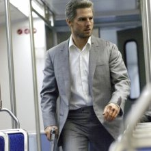 Tom Cruise in una sequenza di Collateral