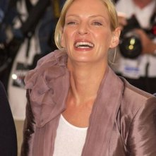 Uma Thurman al photocall di Cannes 2004
