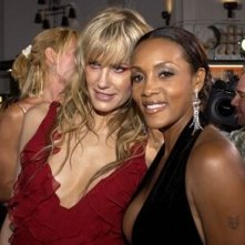 Vivica A. Fox e Daryl Hannah alla prima di Kill Bill Vol. 1