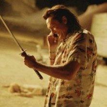 Michael Madsen in una scena del film Kill Bill: Volume 2