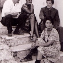 Sophia Loren, Jean Paul Belmondo e Peter Sellers sul set de La ciociara