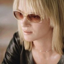 Uma Thurman è la vendicativa e grintosa protagonista di film Kill Bill: Volume 2