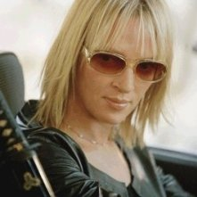 La 'Sposa' Uma Thurman in una scena del film Kill Bill: Volume 2