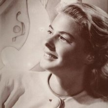 UNa sorridente Ingrid Bergman