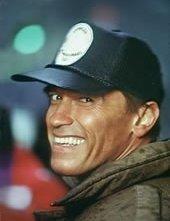 Un sorridente Arnold Schwarzenegger