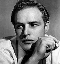 Uno splendido ritratto di Marlon Brando