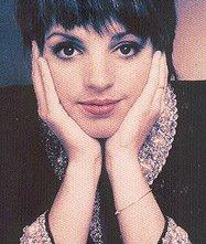 La cantante e attrice Liza Minnelli