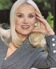 L'attrice Barbara Bouchet