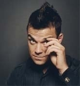 una foto di Robbie Williams