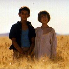 Giuseppe Cristiano e Mattia Di Pierro in una scena di Io non ho paura