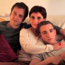 Jimmy Tavares, Ariane Ascaride e Jonathan Zaccai in una scena di Ma vraie vie a Rouen
