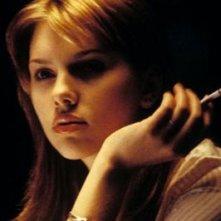 Scarlett Johansson in una scena di Lost in Translation - L'amore tradotto