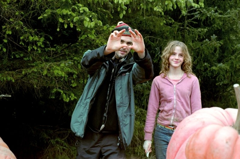 Cuaron Sul Set Con Emma Watson 4077