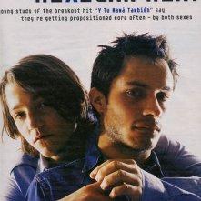 Diego Luna e Gael Garcia Bernal in un' immagine apparsa in un articolo sul periodico Rolling Stone