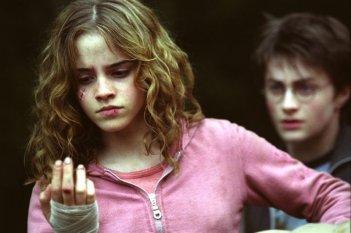 Hermione ferita dal Platano Picchiatore