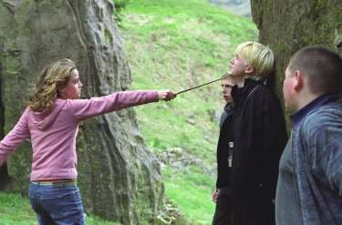 Hermione ne dice quettro al sadico Malfoy